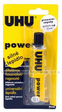 UHU power transparent blistr 33 ml