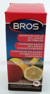 BROS náhr.tek.náplň do lapače octom.30ml