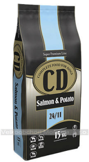 CD Salmon and potato 15 kg