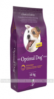 Optimal Dog - hovězí 10 kg